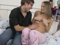 Irina : Irina loses her virginity during wild fucking : sex scene #3