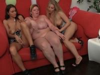 Alina : Florence squeezes Sonya's huge tits. : sex scene #9