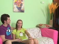 Charlotta : Watch how sweet Alina's virgin pussy is. : sex scene #2