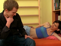 Natalia : Sweet Natalia is having her pussy stretched. : sex scene #2