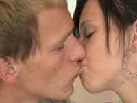 Long kissing and waiting has boyfriend eager to finally fuck his girl