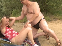 Celine : Walking in the woods has never been so much fun for Celine and her boyfriend  : sex scene #7