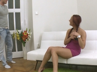 Luba : If there's anyone who deserves to fuck Luba it's her boyfriend; he's waited ages : sex scene #1
