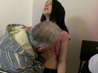Olga : Olga thought she was faithful to her boyfriend until this old guy turns on his charm : sex scene #3