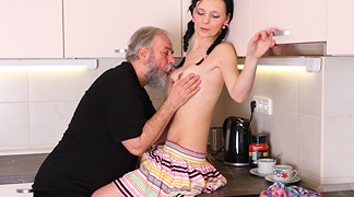 Sex with Young Karina Free Photo