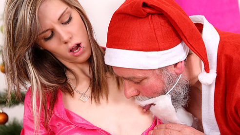 Santa sex christmas girls