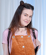 Sexy teen model Tina Grey, 19 yo Tina Grey from 1 Pass For All Sites