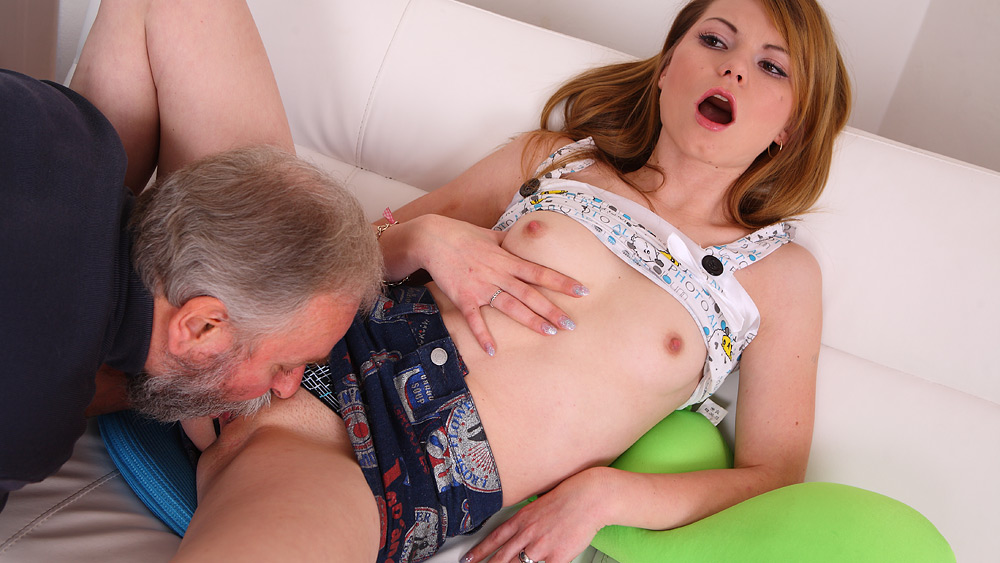 Daddy's little girl exhibits a seriously we